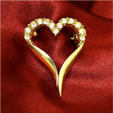 Valentine jewelries